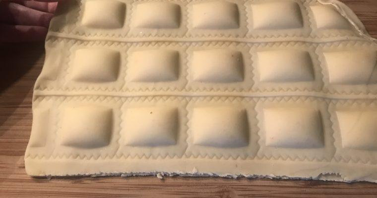Dreierlei Ravioli (Teil 3: formen & kochen)