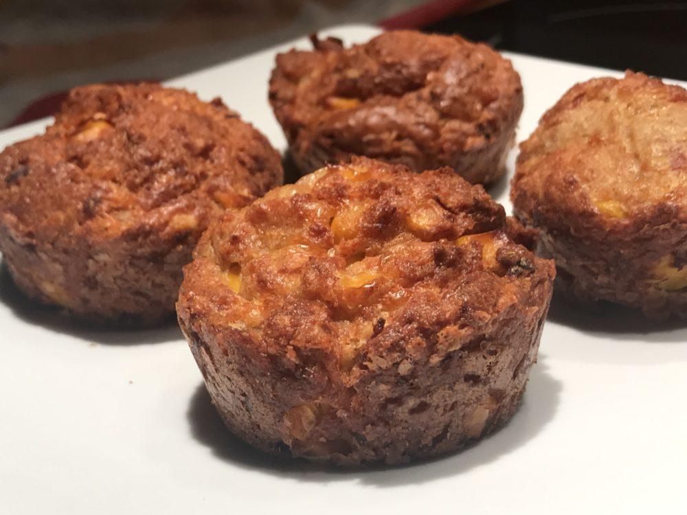 Deftige Schinken-Mais-Muffins